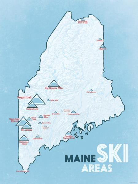 Maine Ski Mountains
