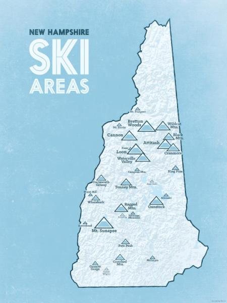 NH Ski Mountains